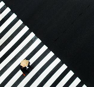Fragmentation Ginza Tokyo by Skander Khlif