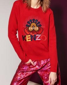 Kenzo Tanami Flower Sweater