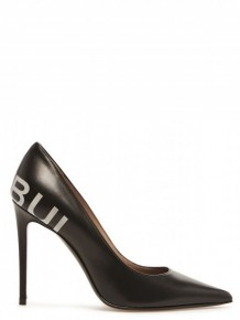 BARBARA BUI logo pumps