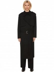 Alexander Wang Black Trench Coat
