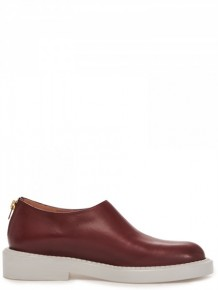 Marni Red leather Flat Sneakers