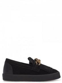 Giuseppe Zanotti black low top sneakers