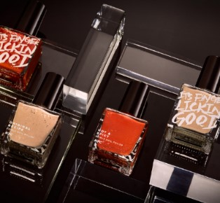 Nail polish can be tasted KFC fried chicken flavors