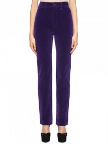 Marc Jacobs high waist purple jeans