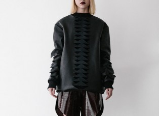 Franz Leather Pullover