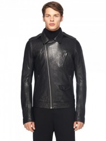 Rick Owens Leather Zipped Jacket