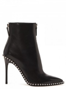 Alexander Wang Black leather boots