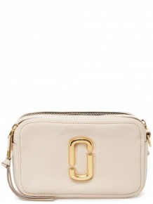 Marc Jacobs Softshot cross body bag (Beige)