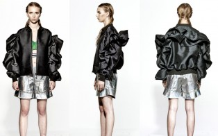 Sculptural Bomber Jacket