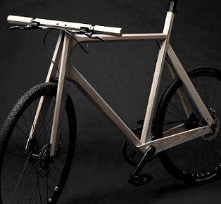 The Wooden Bike Design by Paul Timmer