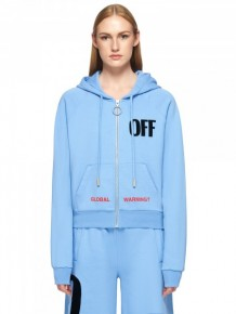 Off White Global Warming Hoodie Jacket