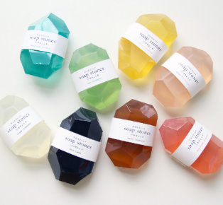 The Beautiful Soap Stone gift set from Pelle Design