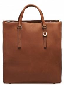 Rick Owens Brown leather Tote bag