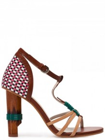 Jil Sander Navy Multi colours High Heels