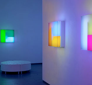 Brian Eno exhibition light design
