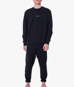 Mens black loungewear set