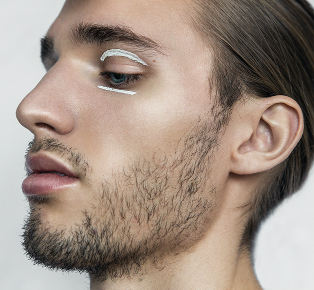 Mens Beauty Editorial Blinded by Beauty