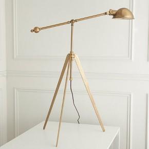 Vintage Victoria Copper Lamp Stand