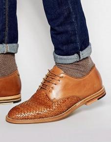 Hudson London Hadstone Woven Mens Shoes