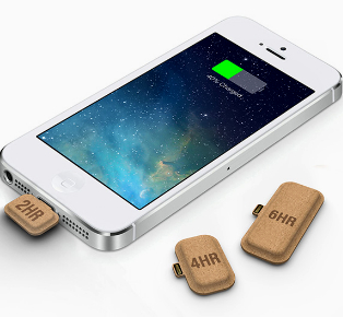 Tiny Recyclable Batteries for Your Smartphone