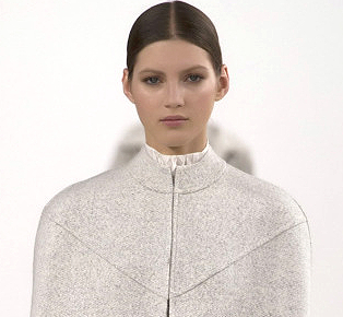 Valentino Goes White Comes To New York