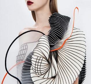 Fashion Design Inspiration Noa Raviv 3D printed couture