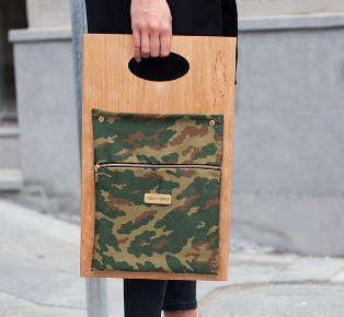 Nino Sepo Wooden Bags Collection