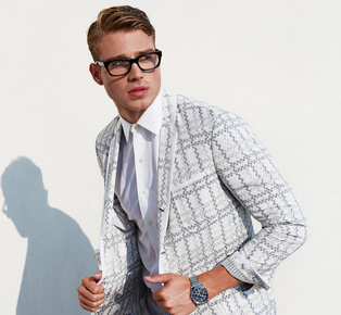 Simple Smart Casual Men Suits lookbook 2015