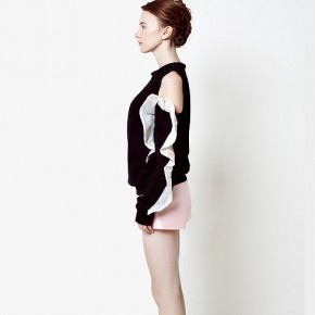 Silk Flares Sweatshirt