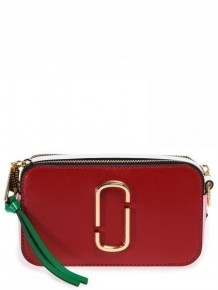 MARC JACOBS The Snapshot camera bag (Red)