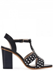 Jil Sander Navy Black High Heels