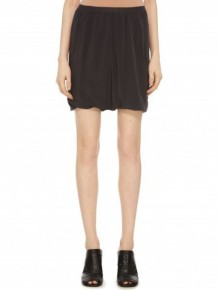 Rick Owens ruffled silk shorts