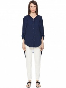 Barbara Bui Dark Blue Shirt