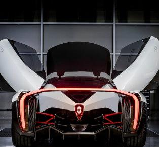 Electric Hypercar design 2017 Geneva Motor Show