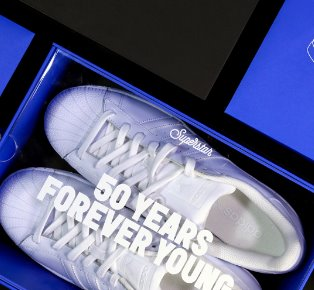 Adidas Superstar 50th Anniversary Forever Young