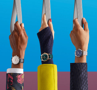 Henry London Watches campaign Inviting you to wear London your way