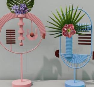 Masquespacio designs Masq for Lucie Kaas