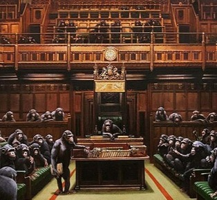 Banksy - Parliament returned - € 11,000,000