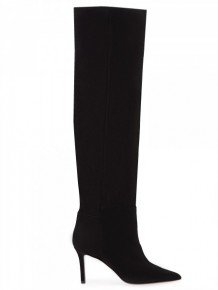 BARBARA BUI black thigh high boots