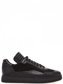 Alexander Wang Twill leather sneakers