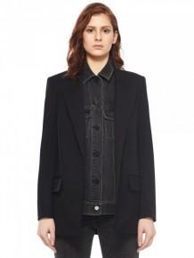 Alexander Wang denim blazer jacket