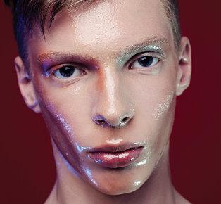Men's Wet look hairstyles 2018