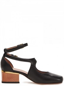 Marni Black leather Sandals