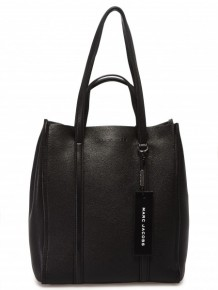 Marc Jacobs oversized Tag tote bag (Black)