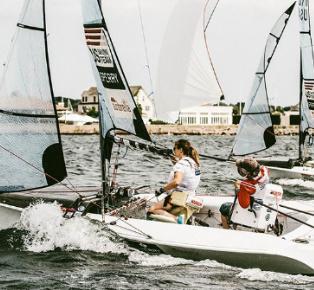 Sailing Stories from athletes Walker Everhart Skeels