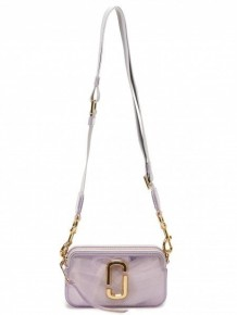 Marc Jacobs Softshot crossbody bag (Silver)