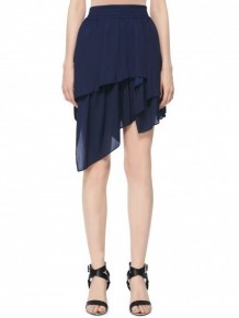 Barbara Bui Dark Blue Skirt