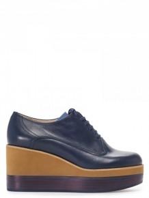 Jil Sander Navy Platform shoes