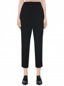 BARBARA BUI black slim-fit tailored trousers