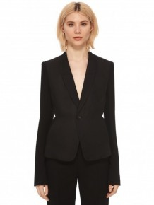 Rick Owens long sleeved suit jacket